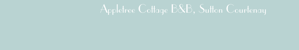 Appletree Cottage B&B, Sutton Courtenay